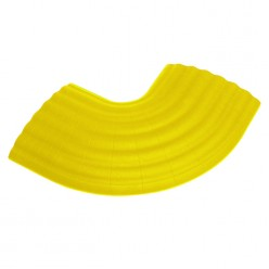 Office - 90° Curve yellow for 85160 Cable Crossover 4-канальный